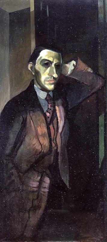 <em>Bildnis Rudolf Kaltofen</em>, um 1932. Öl auf Leinwand, 130 x 60 cm