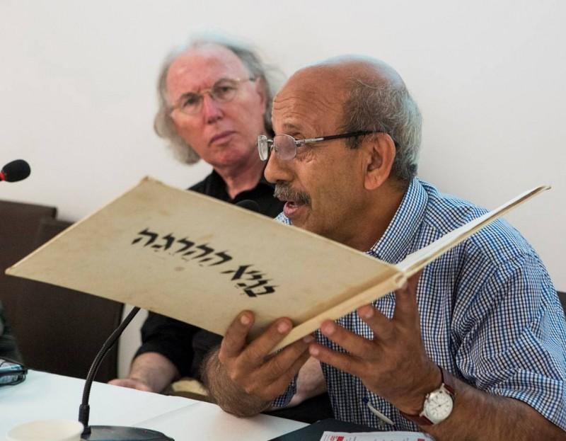 Gideon Ofrat und Abed Abdi