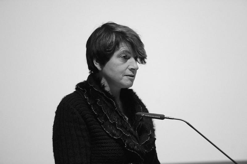 Laudatio für die Kategorie Kunstgeschichte: Dr. Eva Atlan (Foto: Ulli Winkler)