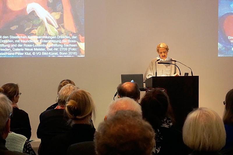 Grußwort Hilke Wagner, Direktorin der Galerie Neue Meister, Staatliche Kunstsammlungen Dresden, Foto: SSK