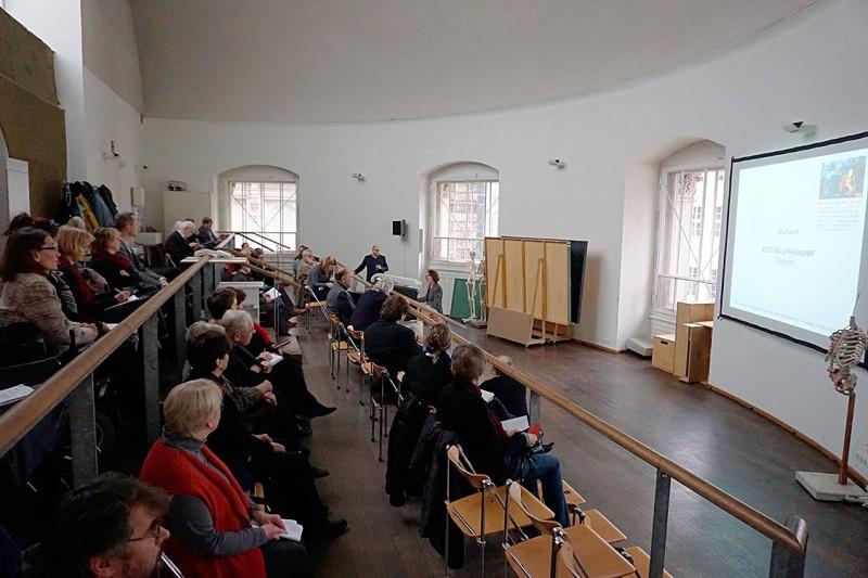 Tagungsort am 12. November 2016, Aktsaal der HfBK, Foto: SSK