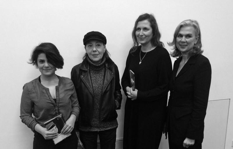 Die Preisträgerinnen Afraa Batous, Heike Ruschmeyer, Andrea Winklbauer und Sabine Fellner
