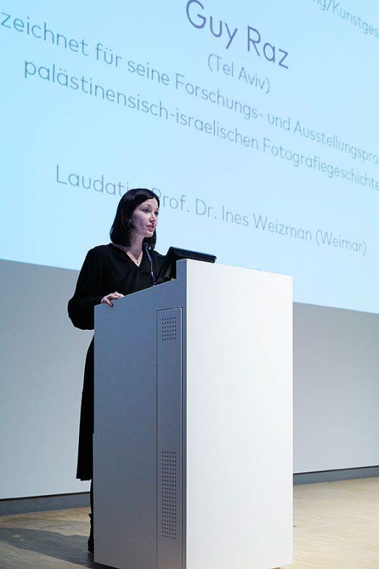 Prof. Dr. Ines Weizman, Mitglied der Jury des Hans-und-Lea-Grundig-Preises 2019, Foto: © Orla Conoll