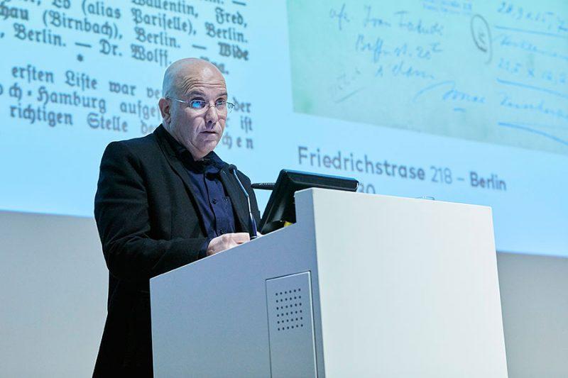 Guy Raz, Gewinner des Hans-und-Lea-Grundig-Preises in der Kategorie «Kunstvermittlung/Kunstgeschichte», Foto: © Orla Conoll