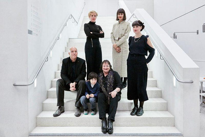 Die Gewinner*innen des Hans-und-Lea-Grundig-Preises 2019: Guy Raz, Dorit Bearach, Vesna Vuković, Roberta Bratovic und Nina Bacun (v.l.n.r.) Foto: © Orla Conoll