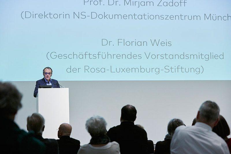 Dr. Florian Weis, Geschäftsführendes Vorstandsmitglied der Rosa-Luxemburg-Stiftung, Foto: © Orla Conoll