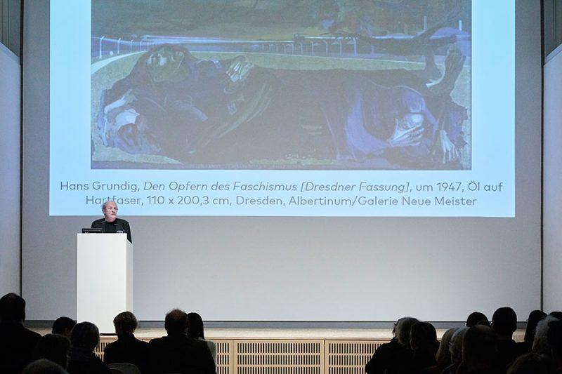 Dr. Thomas Flierl, Mitglied der Jury des Hans-und-Lea-Grundig-Preises 2019, Foto: © Orla Conoll