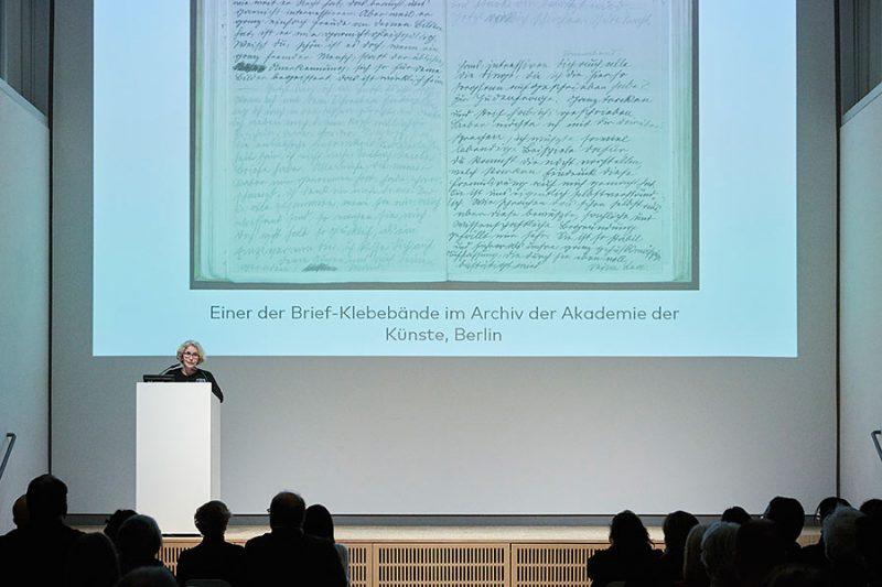 Kathleen Krenzlin, Mitglied der Jury des Hans-und-Lea-Grundig-Preises 2019, Foto: © Orla Conoll