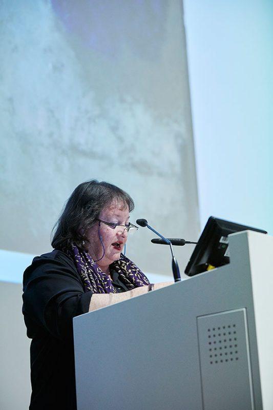 Dorit Bearach, Gewinnerin des Hans-und-Lea-Grundig-Preises in der Kategorie «Bildende Kunst», Foto: © Orla Conoll